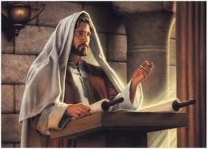 1-Jesus predicando en sinagoga
